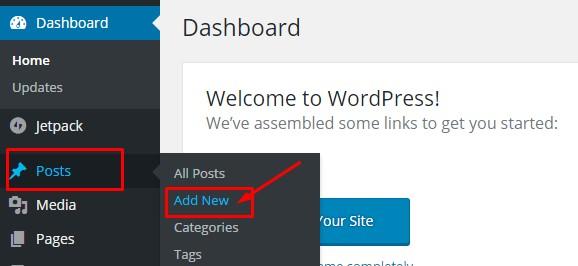 Buat postingan baru