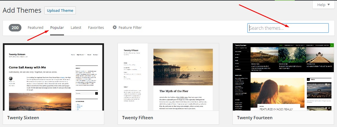 Cara Mengganti Template Blog WordPress