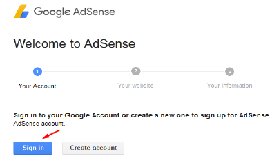 2-adsense-sign-in-via-gmail