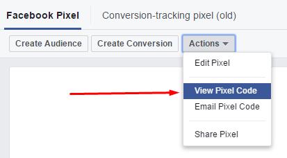 Cara memasang facebook pixel