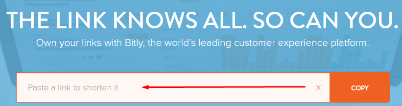 Masukkan URL Artikel ke Bitly