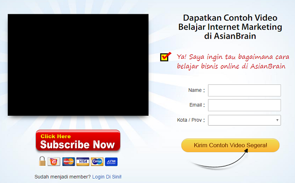 Belajar Internet Marketing di AsianBrain